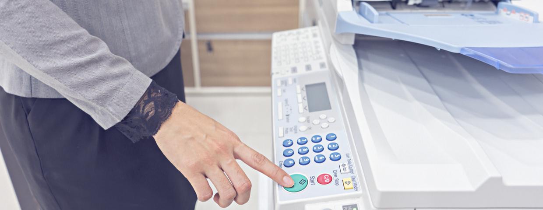 printer in use