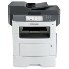 Lexmark MX611dfeThe Lexmark MX611dfe MFP provides print, copy, staple, email, scan, and fax functions.